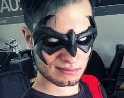 Halloween Costumes Nightwing Nightwing Mask Etsy