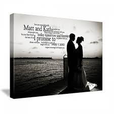 black friday canvas prints personalized anniversary gift wedding photo u0026 first dance gift