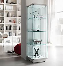 glass cabinet tonelli broadway two glass cabinet glass furniture modern