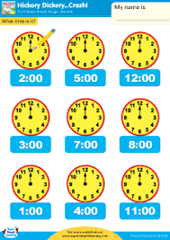 practice telling time with this