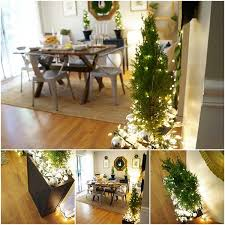 Mailbox Christmas Decor Ideas by Christmas Decorating Ideas With Green U0026 Natural Elements