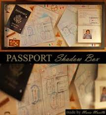 amazon black friday tickets 12 x 12 shadow box filled with old passports movie tickets ball
