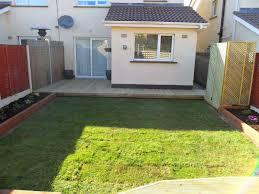 landscaping a rear garden design makeover u0026 decking inse bay