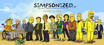 Meme Breaking Bad - breaking bad meets the simpsons artwork