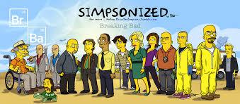 Meme Breaking Bad - breaking bad meets the simpsons artwork