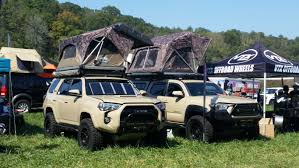 overland jeep tent the amazing vehicles of 2017 overland expo east hooniverse