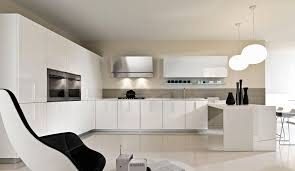 contemporary kitchen glass lacquered magika pedini