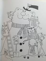 a million christmas cats coloring book coloring queen