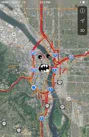 Crime Map Portland by Portland U0027s Famous Traffic Monster Has Awaken Rebrn Com