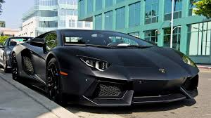 Lamborghini Aventador Tron - matte black lamborghini aventador lp700 4 in milan details