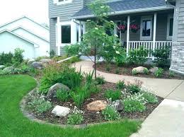 Front Lawn Garden Ideas Small Front House Garden Ideas Financeintl Club