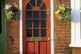 Wood Exterior Door How To Refinish A Stained Varnished Exterior Door Home Guides