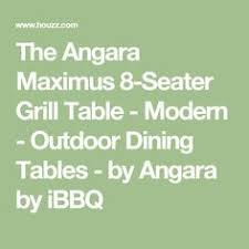 angara maximus dining table with chef sebastian mazzotta s dining and catering service