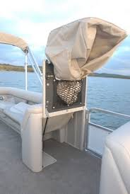 Pontoon Changing Room Curtain Sunchaser 8524 Lr Pontoon U0026 Deck Boat Magazine