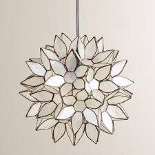 Lotus Pendant Light Decoration In Lotus Pendant Light With Home Decorating Ideas Capiz