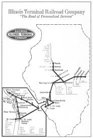 Illinois Interstate Map by Illinois Terminal Interurbans O Gauge Railroading On Line Forum