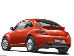 mini volkswagen beetle volkswagen beetle launched in india at rs 28 73 lakh team bhp