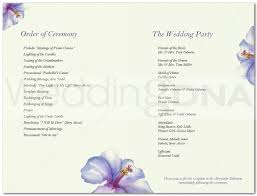 Cute Wedding Programs The 25 Best Wedding Program Template Free Ideas On Pinterest
