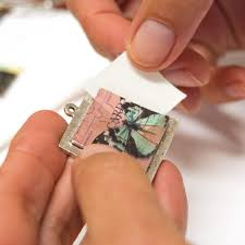 make your own keepsake pendants transfer sheets with resin nunn