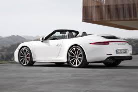 2013 porsche 911 4s cabriolet 4s cabriolet white 1