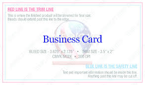 Business Card With Bleed Painted Edge Business Cards America U0027s Print Center