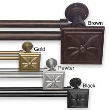 best 25 double curtain rod set ideas on pinterest double