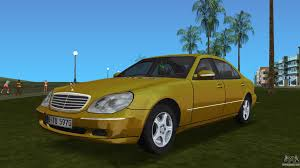 mercedes benz biome inside mercedes benz for gta vice city