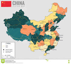 Map Of China Provinces by China Map With Provinces All Territories Are Selectable Vector