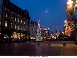 christmas lights in union street stock photos u0026 christmas lights