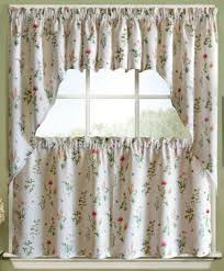 Daisy Kitchen Curtains by Kitchen Curtains Tiers Swags Valances Lace Kitchen Curtains