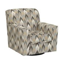 Swivel Accent Chair With Arms Braxlin Swivel Accent Chair In Charcoal 8850244