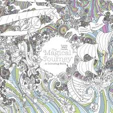 amazon com the magical journey a colouring book magical