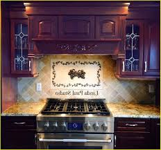 Backsplash Gallery Kitchen Backsplash Metal Medallions  Voluptuous - Kitchen medallion backsplash