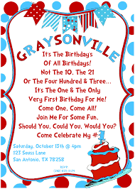 dr seuss birthday invitations dr seuss birthday invitations as birthday invitation