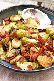 roasted brussels sprouts recipe with bacon 365 days of easy recipes