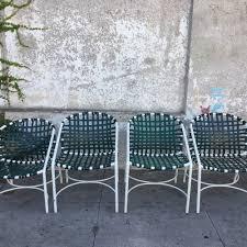 Vintage Brown Jordan Outdoor Furniture by Sunbeam Vintage Dining Chairs
