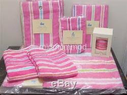 Pottery Barn Kids Shower Curtains New Pottery Barn Kids Kelsey Multistripe Shower Curtain Bath Mat
