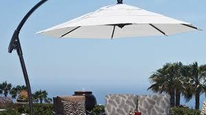 Patio Umbrella Sunbrella Cantilever Umbrella Sunbrella Brilliant Patio Umbrellas With