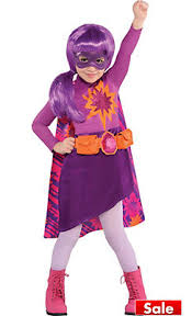Violet Halloween Costume Toddler Girls Superhero Costumes Party