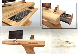 Computer Desk Diy Diy Computer Desk Plans Home Computer Desk With Drawers Uk