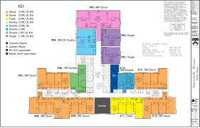 Florr Plans by Floor Plans College Houses U0026 Academic Services