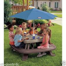 kids picnic table indoor outdoor childrens patio furniture bench