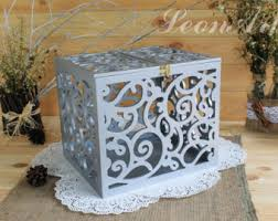 Money Wedding Gift Reception Card Box Etsy