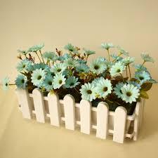 Cheap Plastic Flower Vases Aliexpress Com Buy Plastic White Artificial Flowers Vases For