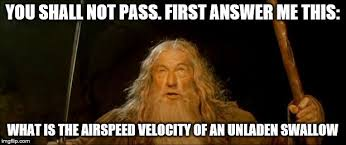 You Shall Not Pass Meme - gandalf you shall not pass imgflip