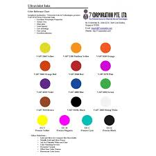 silver matching services uv ink