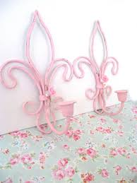 Shabby Chic Candle Sconces 79 Best Shabby Chic Candle Holders U0026 Sconces Images On Pinterest