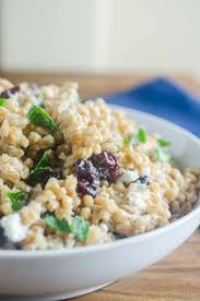 farro cranberry and goat cheese salad s ambrosia