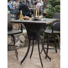 Pub Patio Furniture Bar Height Patio Tables You U0027ll Love Wayfair