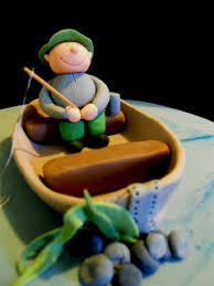 fisherman cake topper sweet treats fisherman cake